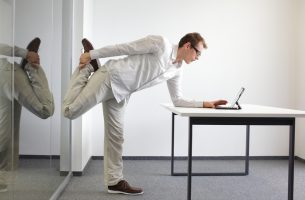 Simple Stretches for Desk Jockies