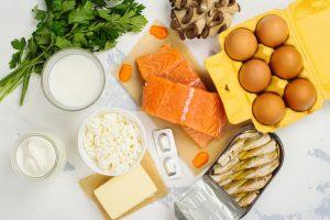 vitamin D and calcium food sources