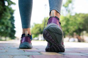 close up fitness walk