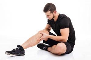 leg muscle cramp